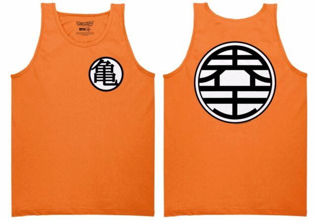 Dragon Ball Z Goku Kame Symbol Dbz Anime Adult Tank Top Xl Ebay