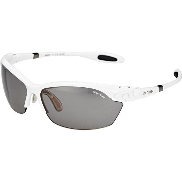 Alpina Fahrradbrille Sportbrille Twist Three 2.0 VL white