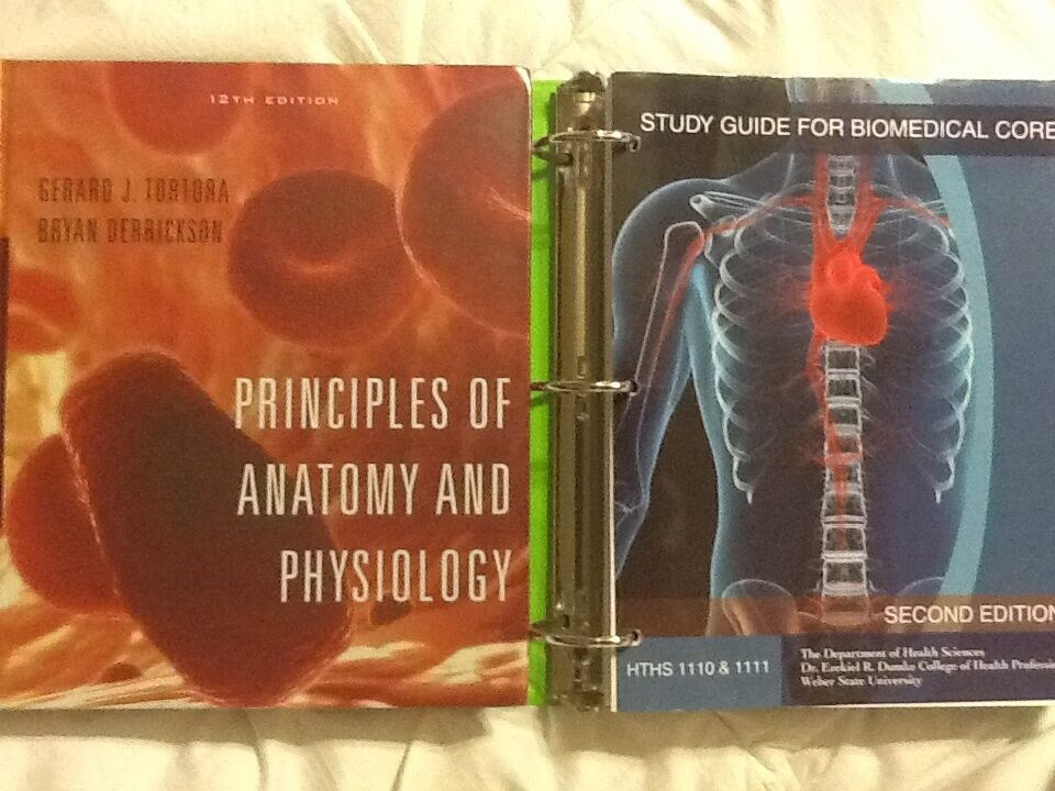 Principles of Anatomy and Physiology 12th Edition | eBay