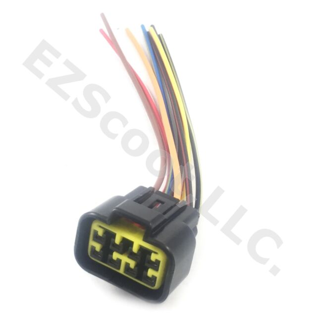 kymco cdi box ac plug wiring harness kymco cdi cable wire adapter connector plug scooter people ... ac plug wiring colors #10