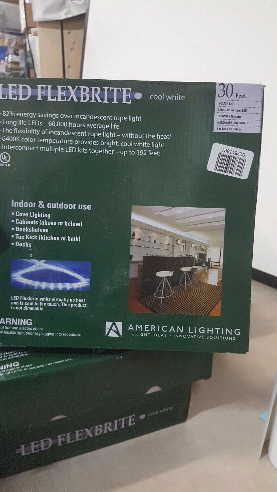 American lighting 26302 30 cool white 120 volt 6400k dimmable picture 1 of 3 mozeypictures Images