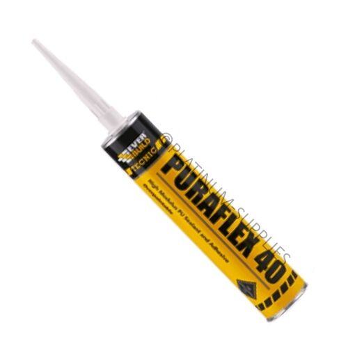 PURAFLEX 40 POLYURETHANE HYBRID BASED SEALANT AND ADHESIVE PU EVERBUILD C3