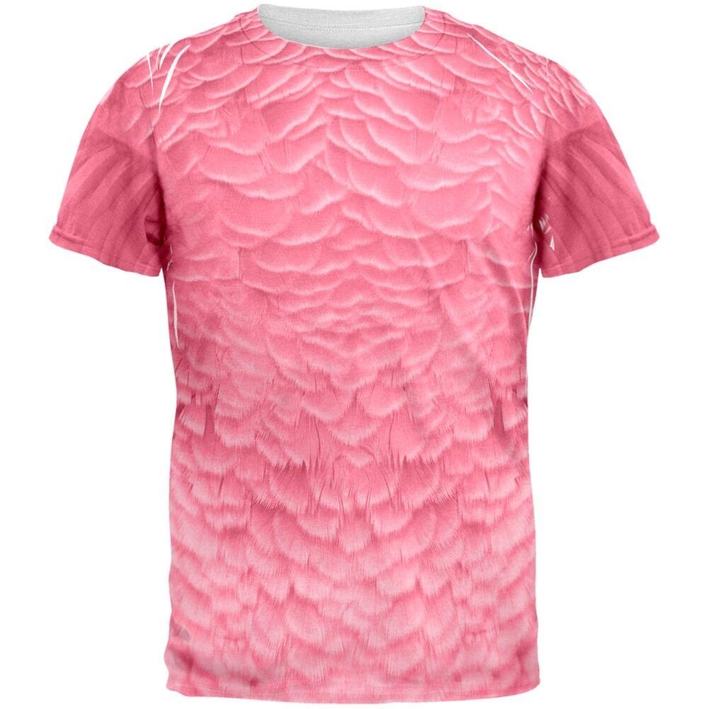 halloween flamingo costume all over adult t-shirt md | ebay