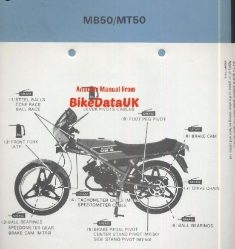 Ebay honda motorcycles user manuals picture 1 of 1 array honda mb50 mt50 workshop manual oe honda no 6716600 ebay rh ebay fandeluxe Choice Image