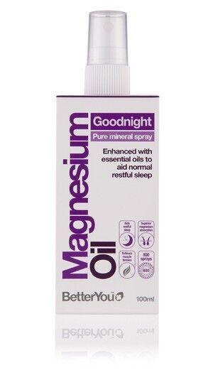 BetterYou Magnesium Goodnight Spray - 100ml - to aid normal restful sleep