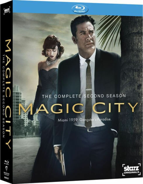 MAGIC CITY: THE COMPLETE SECOND SEASON - BLU RAY - Region A - Sealed