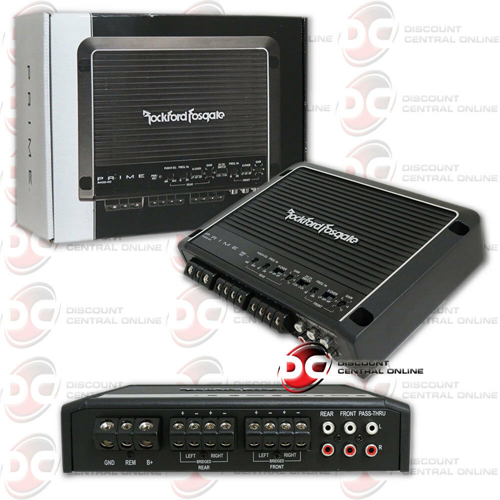 s l1600 4 channel car amplifier ebay  at crackthecode.co