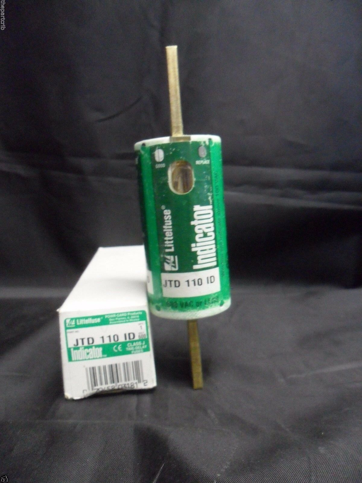 Littelfuse Jtd110id Time Delay Fuse With Indicator Class J 600v 110a Surfacemount Timedelay Picture 1 Of 3