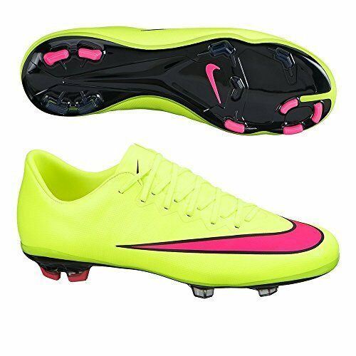 Nike Jr Mercurial Vapor X Cr7 Firm Ground Cleats 684841-404 Soccer Shoes 4  | eBay