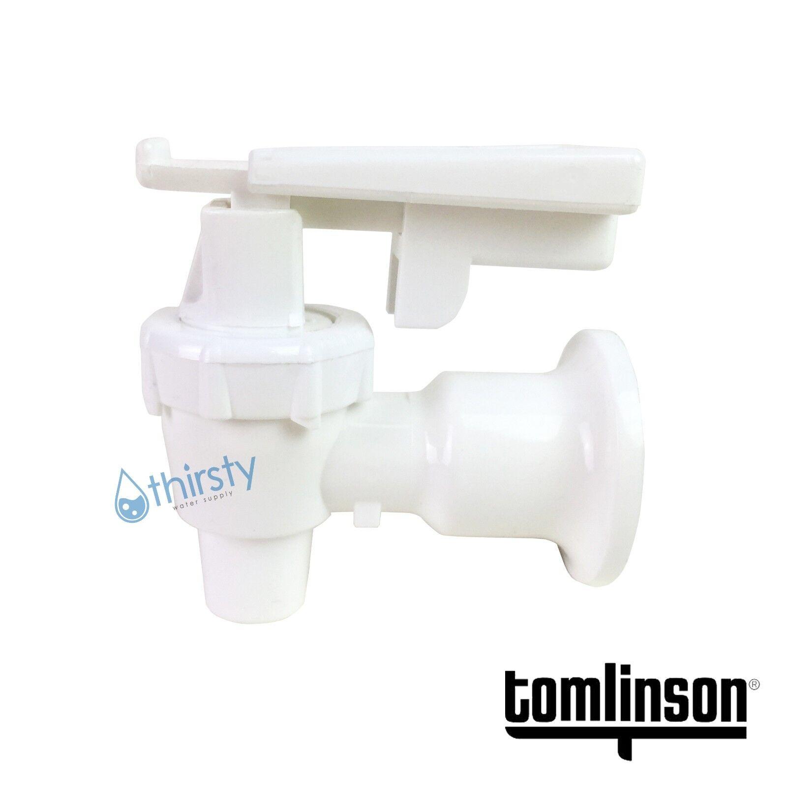 Tomlinson Water Cooler Faucet Spigot Dispenser Valve White Safety ...