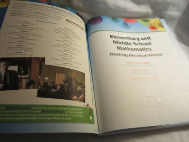 Elementary and middle school mathematics teaching developmentally elementary and middle school mathematics teaching developmentally by karen s karp jennifer m bay williams and john a van de walle 2009 paperback fandeluxe Image collections