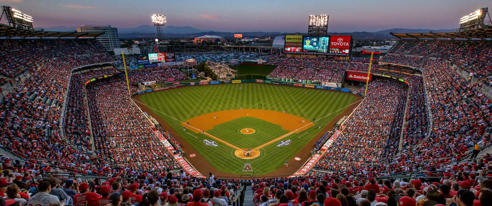 Los Angeles Angels Opening Day