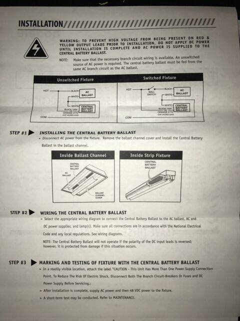 Battery Ballast Wiring Diagram - Wiring Diagram