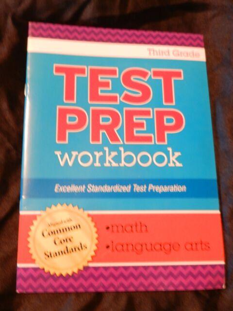 Test Prep Math & Language Arts Workbook Aligned With Common Core ...