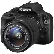Canon EOS 100D 18.1 Megapixels Digital Camera  Bl...