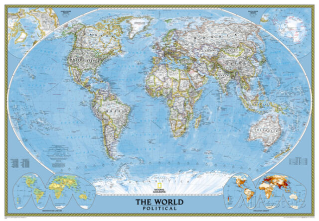 National geographic world classic map enlarged laminated poster national geographic world classic map enlarged laminated poster 69x48 gumiabroncs Gallery