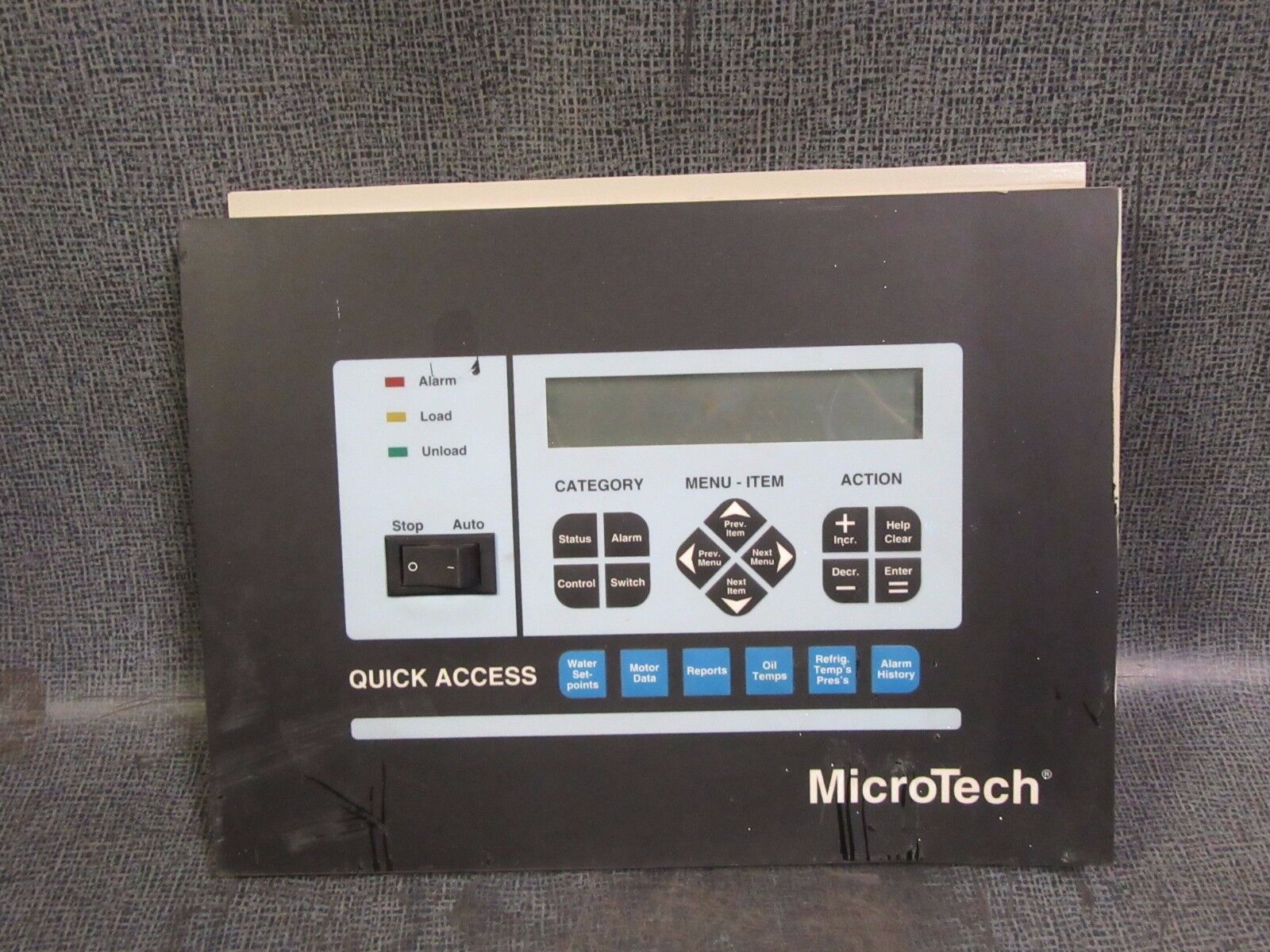 Mcquay chiller microtech quick access hmi display controller resntentobalflowflowcomponenttechnicalissues asfbconference2016 Images