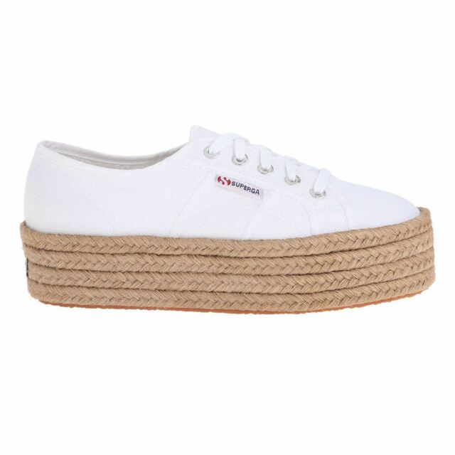 Superga 2790 Cotropew White Womens Trainers
