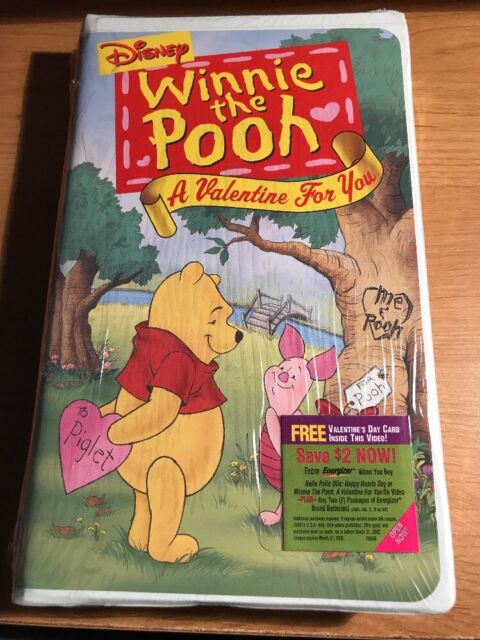 Winnie The Pooh   A Valentine For You (VHS, 2001, Clam Shell) | EBay