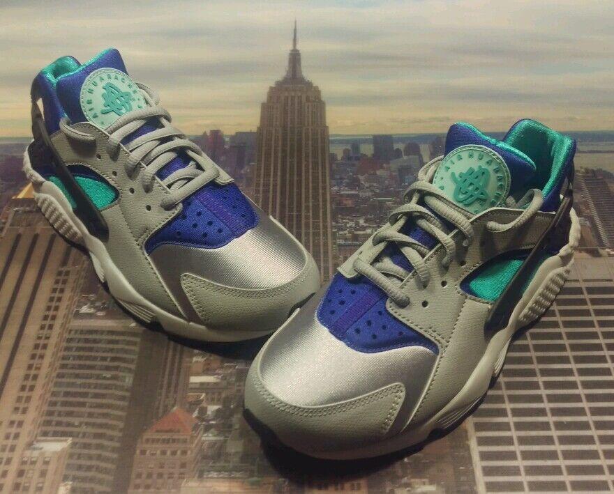 Nike Womens Air Huarache Run Wolf Grey/Light Retro Size 6 Wmns 634835 008 New