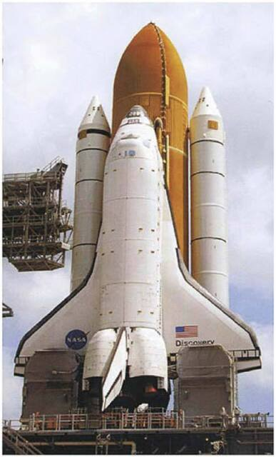 revell discovery space shuttle with boosters - photo #2