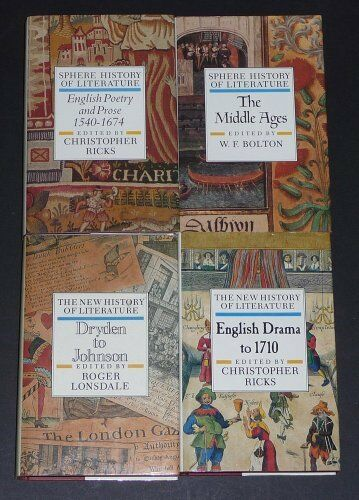 Sphere History of Literature: The Middle Ages v. 1,W.F. Bolton