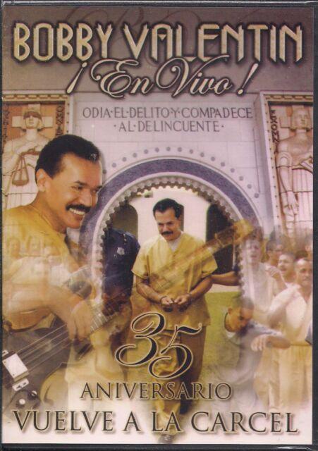 RARE Salsa DVD Bobby Valentin En Vivo 35TH ANIVERSARIO VUELVE A LA CARCEL  Amigos