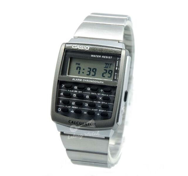 -Casio CA506-1D Calculator Watch Brand New & 100% Authentic