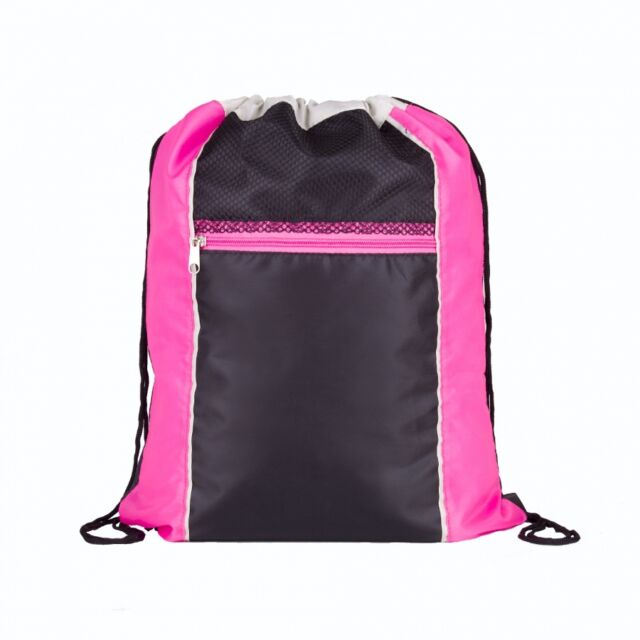 Draw String Zip Drawstring Bag Shoe Sports Gym PE Dance School Backpack Swim  Pink. About this product. 3 watching. Drawstring Book Bag Sport Gym Swim PE  ... 6c445a79f3c04
