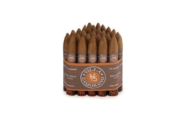 Villa Zamorano – No. 15 – Figurado – 25 Zigarren-Bundle - Honduras - Longfiller