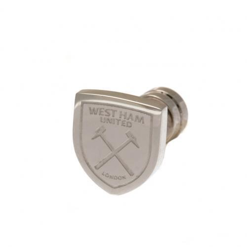 West Ham United F.C. Cut Out Stud Earring Official Merchandise (New Badge)