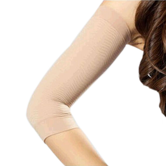 02121d994d3e6 2pcs Weight Loss Calories Slimming Arm Shaper Massager Lose Buster Flesh  Color