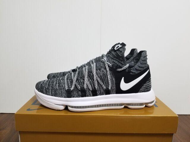 Nike Zoom KD 10 Mens Size 10.5 Basketball Shoes Triple Black Kevin Durant