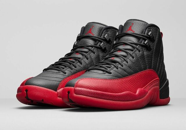 Air Noir Rouge Jordan 12