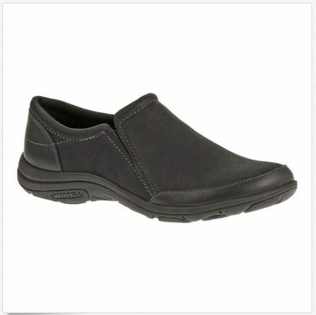 NIB NEW Women Merrell Dassie Moc Casual Comfort Flat Slip-on Shoes BLACK 6-