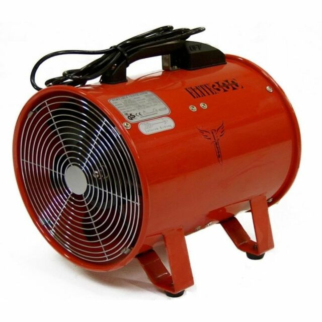 """Fume Dust Extractor Ducting Fan 450mm 18"""" Air Ventilation Extraction 240 V Volt"""