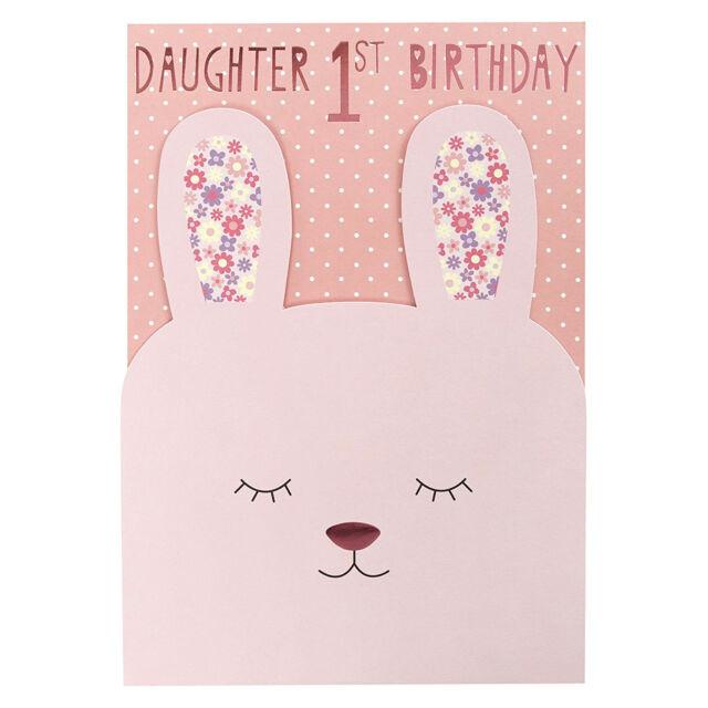 Hallmark 1st birthday card for daughter somebunny special medium daughter 1st birthday adorable rabbit keepsake 1 happy birthday greeting card bookmarktalkfo Image collections