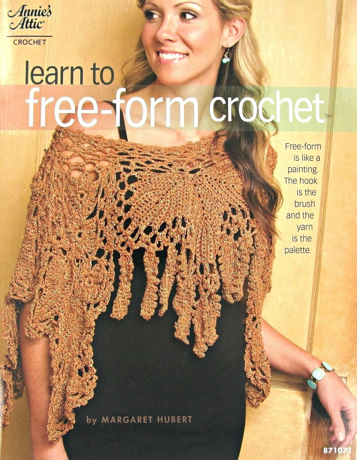 Learn to -form Crochet Book Crocheting Patterns Vest Hat Scarf ...