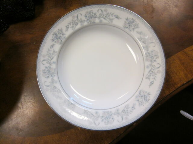Set of 4 Vintage Mikasa Dresden Rose L9009 Rim Soup Bowls Porcelain ...