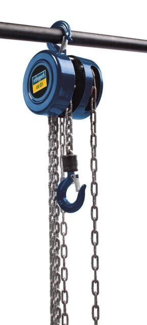SCHEPPACH cb01 - Kettenzug Flaschenzug 1000 Kg / 1 Tonne