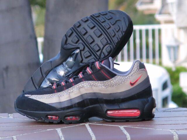 nike air max 95 uomini sonodiventate scarpe da ginnastica 538416 006 nero medio ash