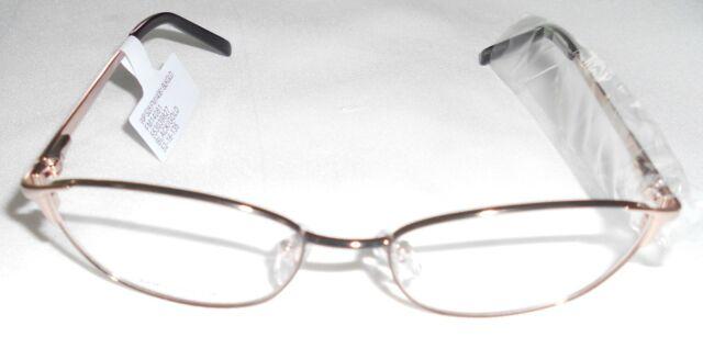 Wal Mart BRAND Eyeglass Frames WP FM14081 Black & Gold | eBay