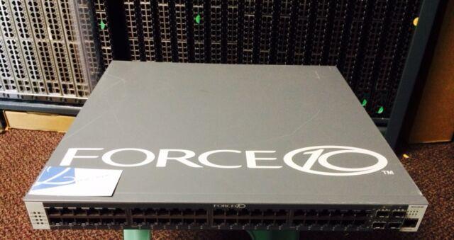 Force10 Networks SA-01-GE-48T 759-00001-00 48-Port Gigabit Switch w/ Rack Ears A