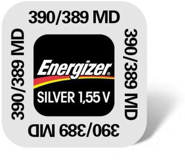ENERGIZER Lot de 1 pile 390/389  SR54 1,55V pile bouton
