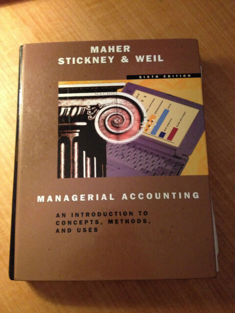 Managerial Accounting by Michael W. Maher (1996, Hardcover) store#2482