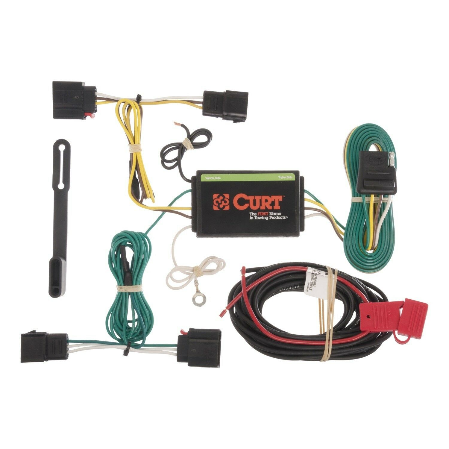 Curt T Connector Wiring Kit 56162 Solutions Tconnector Vehicle Harness With 4 Pole Trailer