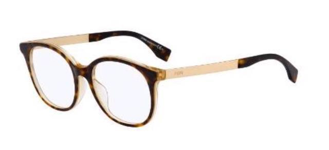 Fendi Eyeglasses FF 0096/f 0096 F Dvo Havana Honey Womens Frame ...