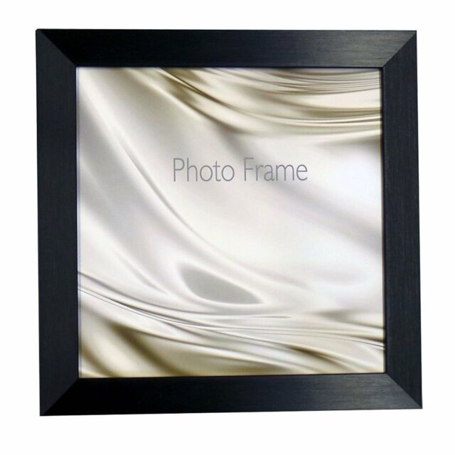 Square Picture Photo Frame Black Silver White Oak Brown Black 8x8 ...