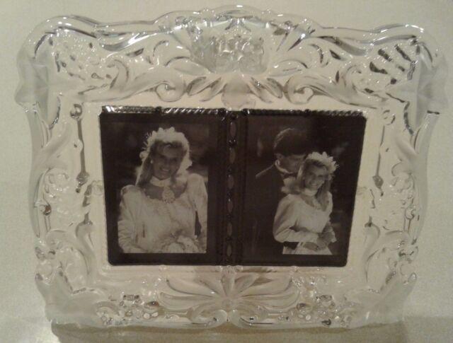 Mikasa Vintage Memories Duet Crystal Picture Frame | eBay