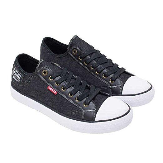 Levi's Kids Boys Stan Buck C Black Denim Sneakers/Various Sizes
